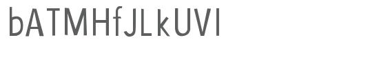 saja font Sample